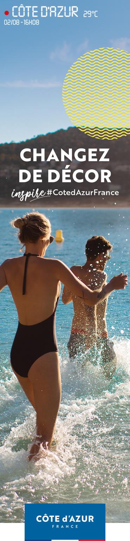 Côte d'Azur France changez de décor