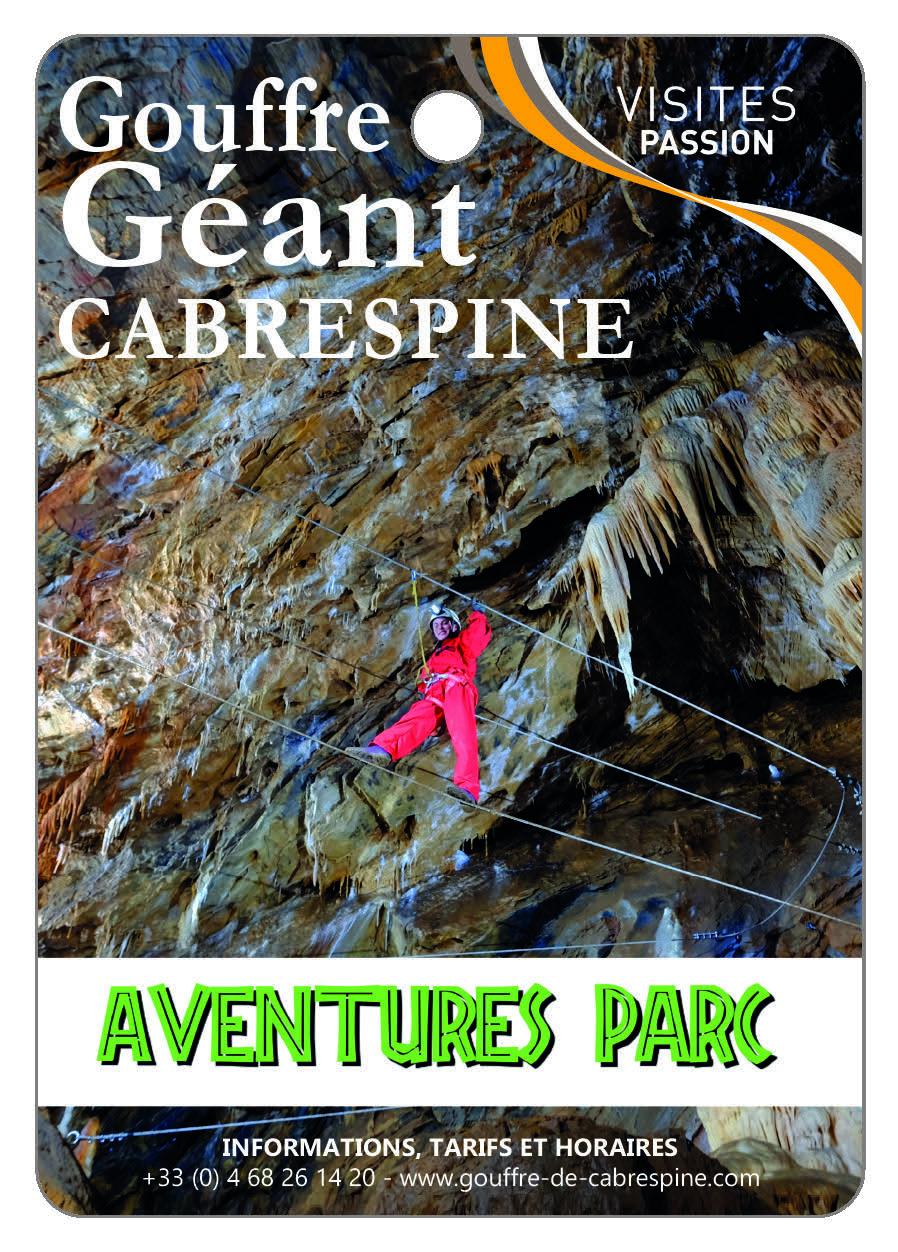 Gouffre géant de Cabrespine Aventures Parc