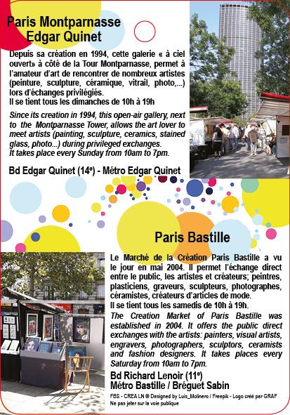 MARCHE DE LA CREATION PARIS MONTPARNASSE EDGAR QUINET