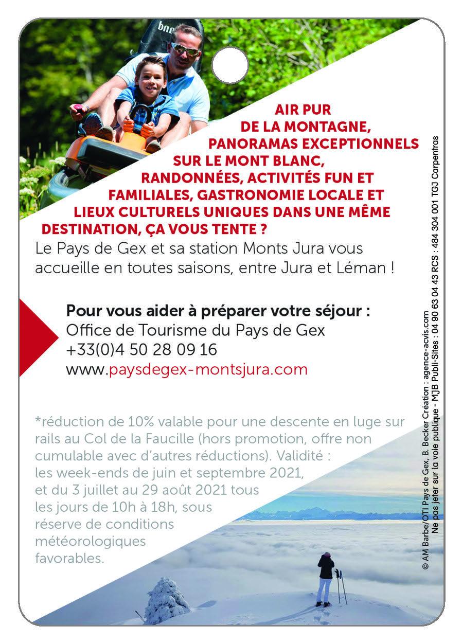 PAYS DE GEX - MONTS JURA