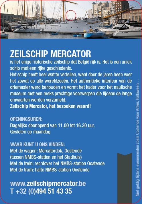 Zeilschip Mercator