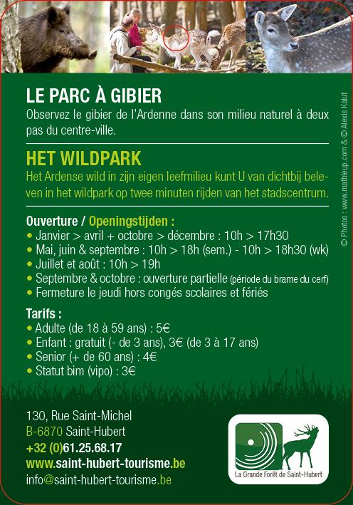 Le Parc à Gibier de Saint Hubert