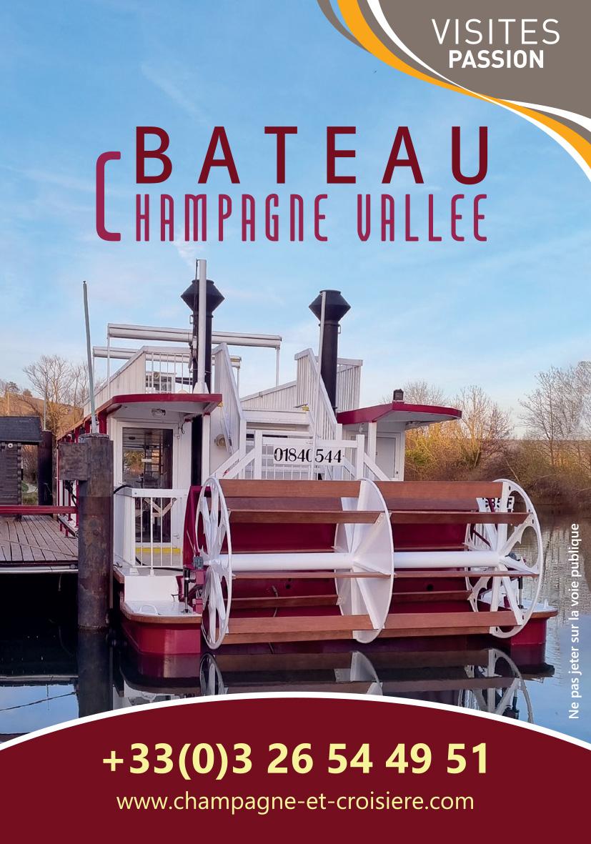 Bateau Champagne Vallée