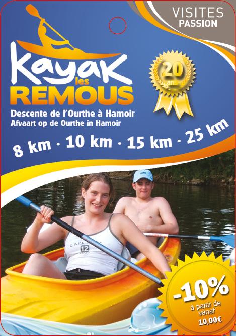 Kayak Les Remous