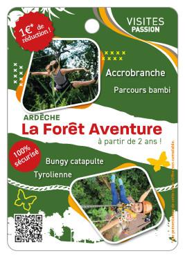 Forêt de l\'Aventure de Jaujac
