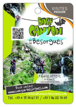 Base Canyon de La Besorgues