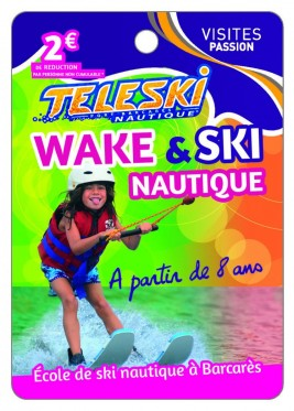 Teleski Nautique - Port Barcares -